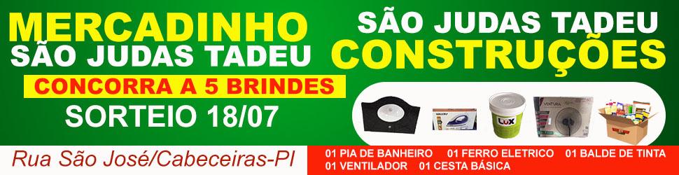 SORTEIO SÃO JUDAS TADEU