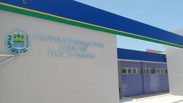 Central de Flagrantes de Parnaíba (Foto: Divulgação / SSP-PI)